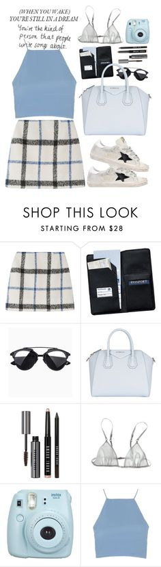 """""""Untitled #110"""" by adrianacnsl ❤ liked on Polyvore featuring Royce Leather, Givenchy, Bobbi Brown Cosmetics, Loup Charmant, Topshop and Golden Goose"""