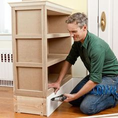 How to build a columned room divider to separate the front door entryway and living room by This Old House