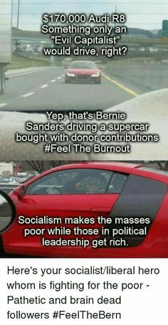 """This how socialism always ends up. The elites become very wealthy while all other citizens become """"equally"""" poor. Ungrateful, elitist, economically foolish socialist."""