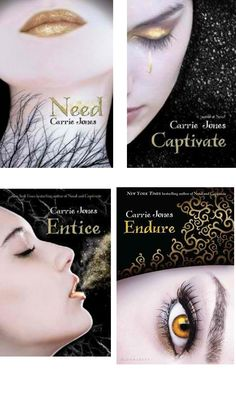 the entire need series by carrie jones. which includes need, captivate, entice and endure!!!!!