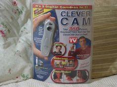 A Junkee Shoppe Junk Market Stop: CLEVER CAM Digital Camera Webcam Camcorder Unused. Click Link Here To View >>>> http://ajunkeeshoppe.blogspot.com/2015/10/clever-cam-digital-camera-webcam.html