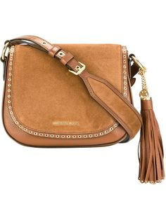 d31b72817f MICHAEL MICHAEL KORS tassel detailing crossbody bag.  michaelmichaelkors   bags  shoulder bags  crossbody  suede