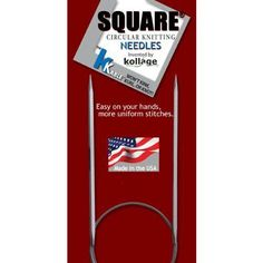 Kollage Square Circular 40inch 101cm Knitting Needle Soft Cable Size US 8 50mm ** Learn more by visiting the image link.Note:It is affiliate link to Amazon.