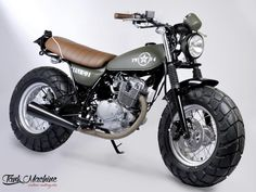 VANVAN by MFC Paris VAN-VAN ARMY MFC Design - Préparation motos, peinture, design, tuning, Suzuki - Kawasaki