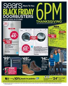 Sears Black Friday Ad 2017 is here! See what's going on sale this year and get the best Sears Black Friday deals, sales and news at BlackFriday. Black Friday Deals Online, Black Friday Ads, Black Friday Shopping, Free Printable Coupons, Holiday Deals, Yesterday And Today, Make It Simple, Retail, Household Products
