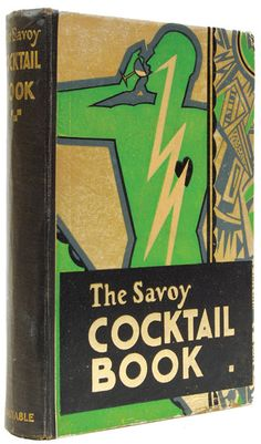 "This is the cover of ""The Savoy Cocktail book"" by Harry Craddock.    ""Harry Craddock is perhaps the 20th century's most legendary barman. He left the US during Prohibition and joined the American Bar at the Savoy Hotel, London in 1920. During the Jazz Age heyday of the 1920s and 1930s Craddock created a number of classic cocktails, including the famous Corpse Reviver #2 and the White Lady, and popularized the Dry Martini."""