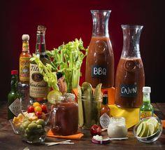 Garnish ideas & recipes for a DIY Bloody Mary bar in the Kansas City Star