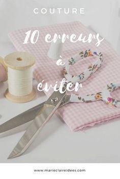 Couture : 10 erreurs à éviter