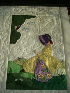 Quilt Pictures, Patterns & Inspiration...    (Bonnet Girls Patterns of the Past Pattern Book Applique by Helen R Scott).