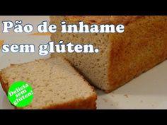 Receita: Pão de inhame delicioso, sem glúten, nutritivo e fácil. - YouTube Muffin, Cornbread, Banana Bread, Recipies, Low Carb, Gluten Free, Healthy Recipes, Pasta, Ethnic Recipes