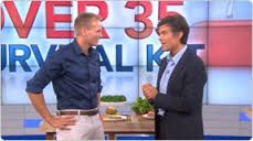 Mark Macdonald (Monavie Spokesperson & CNN Fitness & Nutrition contributor) & Dr. Oz on the Dr. Oz Show (November 2012)