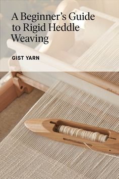 Loom Knitting Projects, Weaving Projects, Weaving Art, Weaving Patterns, Tapestry Weaving, Loom Weaving, Hand Weaving, Diy Crafts Instructions, Rug Loom