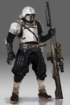 Concept Artist Moh Z. Mukhtar has created this interesting piece of art depicting a redesign of Star Wars's stormtroopers. Description from coffeeandgeeks.wordpress.com. I searched for this on bing.com/images
