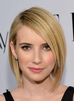 Bob hairstyle with deep side part :: one1lady.com :: #hair #hairs #hairstyle #hairstyles