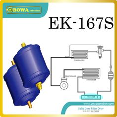 EK167S HCFC filter driers are installed in home central air conditioner replace Sporlan filter Driers