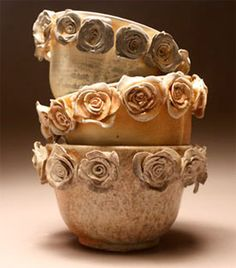 Artist of the Day: Caroline Reehl ,  Love this pottery.