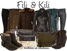 """Fili & Kili"" by fofandoms ❤ liked on Polyvore"