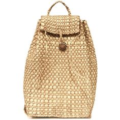 Backpack Straw Bag, Woven Straw Bag, Drawstring Bucket Bag, Large... ($60) ❤ liked on Polyvore featuring bags, backpacks, backpack straw bag, beach tote bag, drawstring bucket bag, exotic caribbean bag, large rucksack backpack, handbags totes, beach backpacks and satchel handbags
