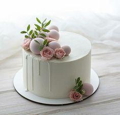Birthday Drip Cake, Pretty Birthday Cakes, Pretty Cakes, Cupcakes, Cupcake Cakes, Bolo Glamour, Mango Cake, Girly Cakes, Creative Desserts