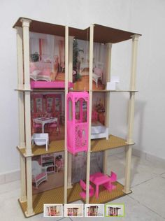 I had this growing up. 1980s Barbie, Vintage Barbie Dolls, Vintage Toys, Barbie Townhouse, Shoppies Dolls, Old School Toys, Barbie Dream House, My Childhood Memories, Barbie World
