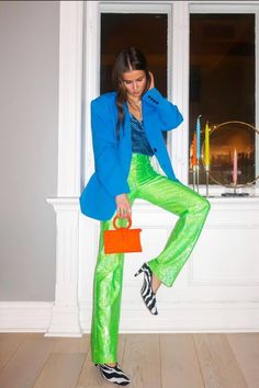 Colourful Outfits, Colorful Fashion, Missguided Outfit, Missguided Clothing, Color Blocking Outfits, Street Style Edgy, Mode Inspiration, Festival Outfits, Suits For Women