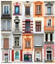 Good collection of Belgrade windows in a single image.