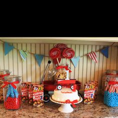 Walker's Red Wagon Birthday