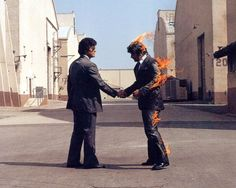 """Song """"Wish You Were Here"""" ukulele chords and tabs by Pink Floyd. Free and guaranteed quality tablature with ukulele chord charts, transposer and auto scroller. Storm Thorgerson, Pink Floyd Poster, Cool Album Covers, Pochette Album, The Doors, David Gilmour, Wish You Are Here, Led Zeppelin, Vintage Pink"""