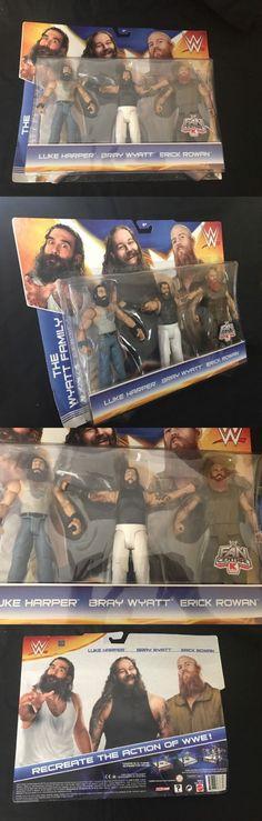 Sports 754: Wyatt Family Wwe Mattel K-Mart Exclusive 3 Pack Action Figure Bray Rowan Harper -> BUY IT NOW ONLY: $53.95 on eBay!