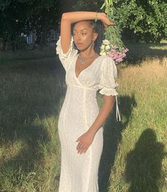 Pretty Black Girls, Beautiful Black Women, White Dress Summer, Summer Dresses, Classy Outfits, Cute Outfits, Black Hippy, Black Girl Aesthetic, Couple Aesthetic