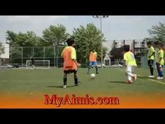 drill 1v1 and 2v1 and 2v2 in soccer Training - Exercises in football