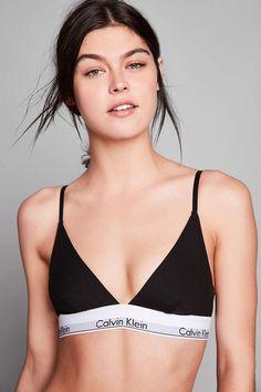 06fdef2be794c Calvin Klein Modern Cotton Triangle Bra Calvin Klein Bikinis