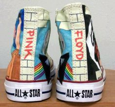 pink floyd shoes.. I love them!