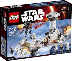 The blizzard of LEGO 2016 Star Wars sets contains a trio of sets from the Original Trilogy, and having already discussed the Carbon-Freezing Chamber and Droid Escape Pod, that leaves one last snowflake left to talk about. We've had no shortage of brick-built Battle of Hoth sets over the years, and this winter we can add one more: the LEGO Star Wars Hoth Attack 75138!