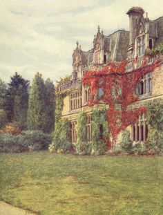 Helen Allingham - Aldworth House, The home of Alfred and Emily Tennison