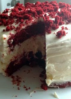 Just-Like Cheesecake Factory Red Velvet Cheesecake | AllFreeCopycatRecipes.com