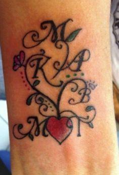 Cute Family Tattoo Idea!
