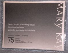 Mary Kay Beauty Blotters OilAbsorbing Tissues  75Pkg * For more information, visit image link.