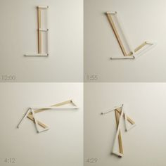 The Oblique Clock by Science+Sons - Aún trato de entender