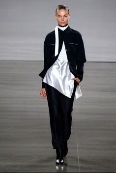 Paulina 💥DNew York Fashion Week💥 Daniel Silverstain Runway💥