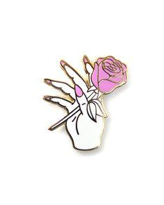 Nail Salon Lapel Pin