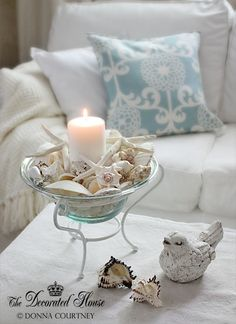 nice beach themed centre piece for a coffee table or dining table or just any random ornament or decor