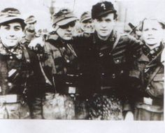 Waffen SS Belgian Volunteers from Wallonie Division. They served under Leon Degrelle. Great combat record.