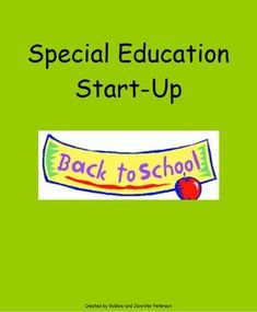 Special Education Start UpMorning work for special education students! Repinned by @FontSpace.com 4 Teachers Visit us and see our special education fonts at http://www.teacherspayteachers.com/Product/Dyslexia-Fonts-EZRead-EzWrite-EZBrain-Games-878014