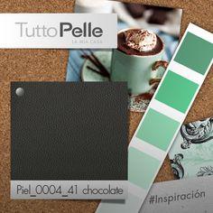 #TuttoPelle #Interiorismo #Color #Chocolate #VerdeMenta #Diseño