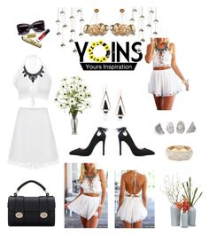 YOINS by moonlightsilhouette on Polyvore featuring polyvore, fashion, style, Sonneman and clothing