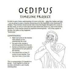 teaching literature essay prompts oedipus