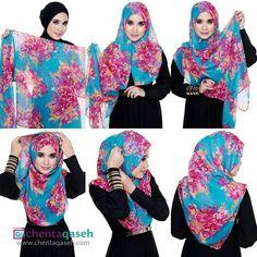Easy shawl tutorial