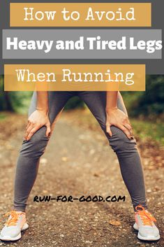 How to Avoid Heavy and Tired Legs When Running Do your legs often feel tired when you're running? Here's some possible causes and how to prevent that heavy and tired legs feeling. Running Plan, After Running, How To Start Running, How To Run Faster, How To Run Longer, Starting To Run, Trail Running, Marathon Tips, Half Marathon Training