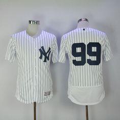 5b70af833b6 Men 2017 MLB New York Yankees 99 No name White Elite Jerseys